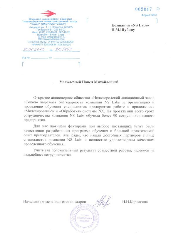 Нижегородский авиационный завод Сокол
